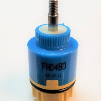 SunCleanse Pressure Balancing Valve Cartridge JH04BD 40mm Dual Functions Ceramic Valve Cartridge for Control Temperature and Waterflow