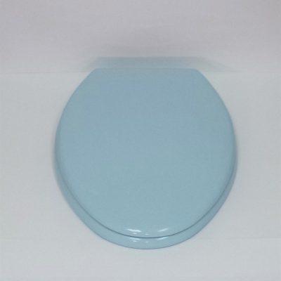 American Standard 5357 016 Dresden Blue Toilet Seat For