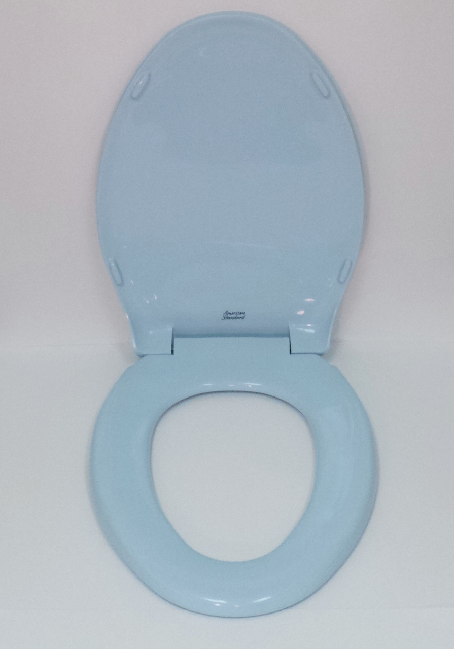 American Standard Rise and Shine 5324.019 Dresden Blue Toilet Seat
