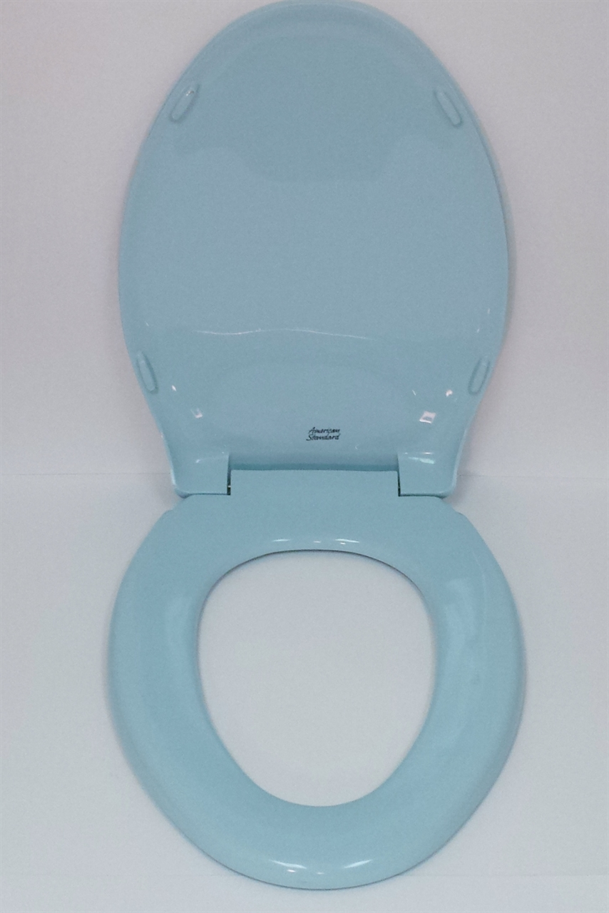 American Standard Toilet Seats >> American Standard Rise And Shine 5324 019 Light Turquoise Toilet Seat