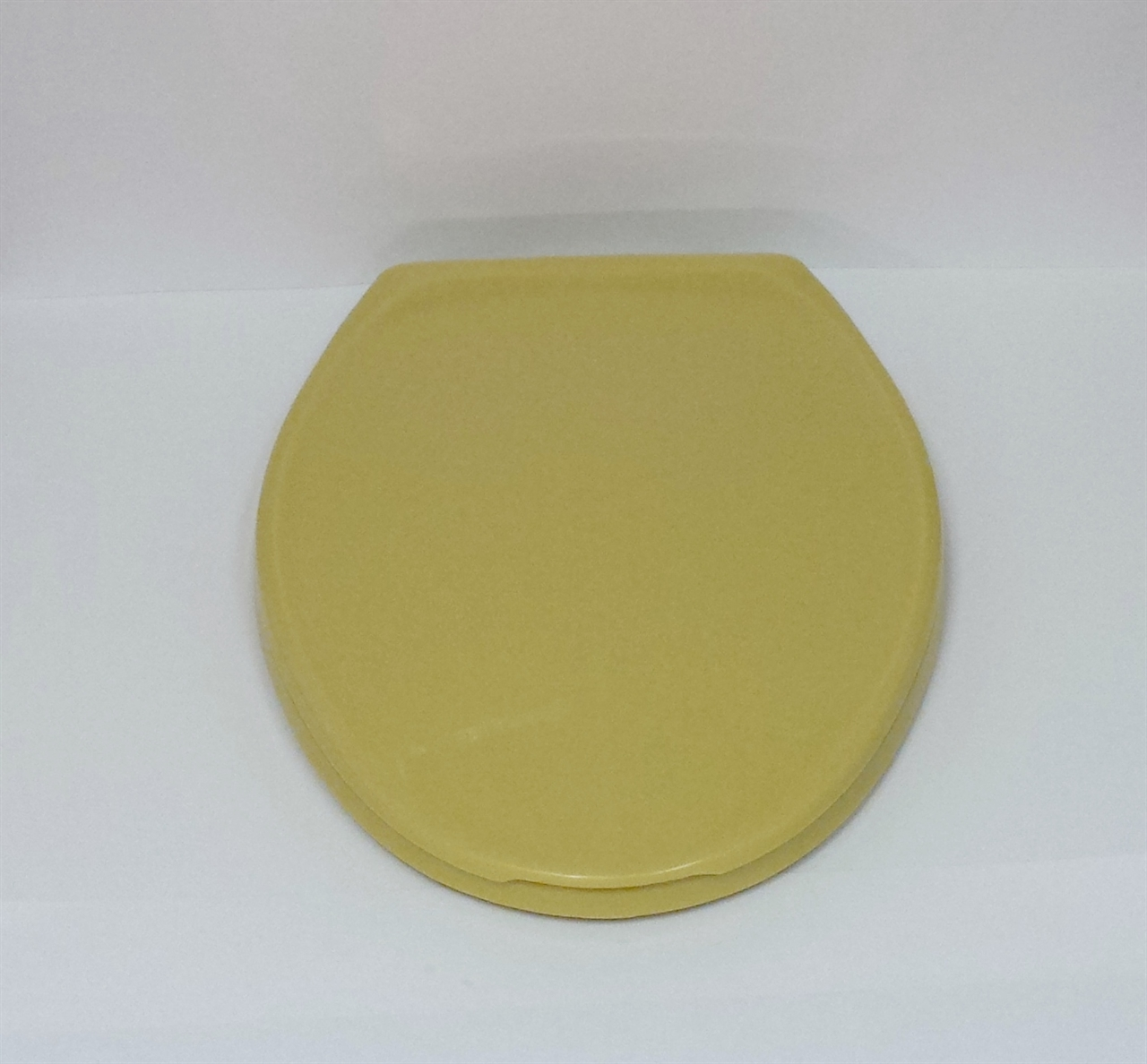 Harvest Gold Toilet Seat Elongated With Cover Noels